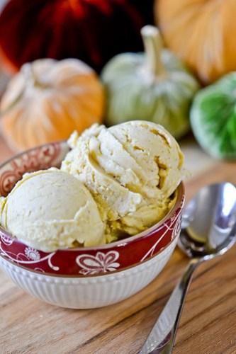 Pumpkin Frozen Yogurt-7