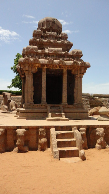 Arjuna ratha, Mahabalipuram