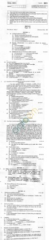 CBSE Board Exam 2013 Class XII Question Paper - French