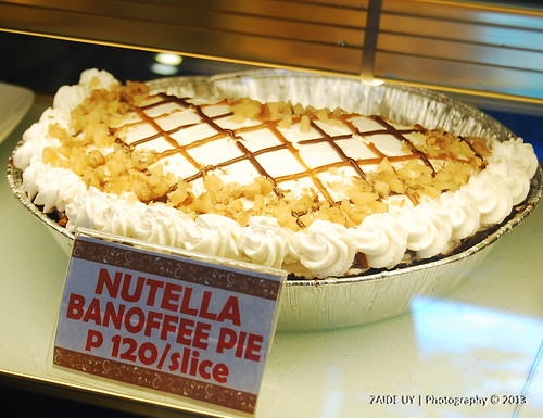 Nutella Bannoffee Pie