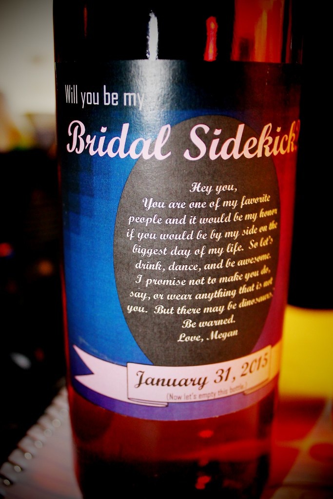 Bridal Sidekick Bottle- Credit Megan Nash