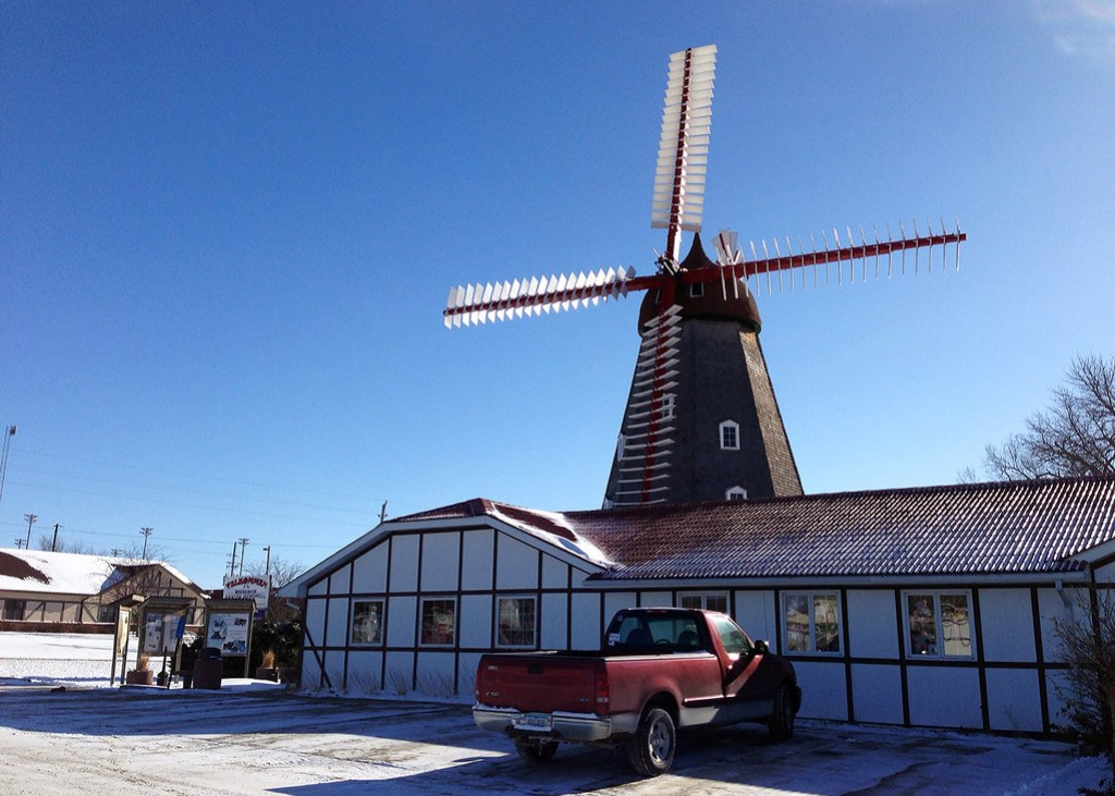 Historic Danish Windmill