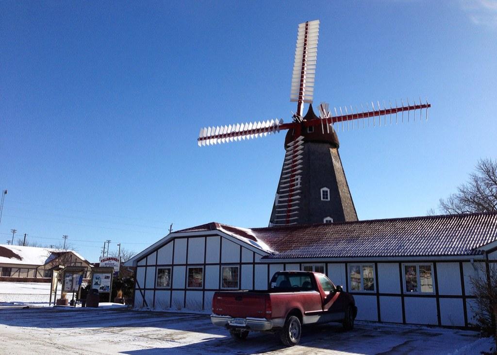 Historic Danish Windmill