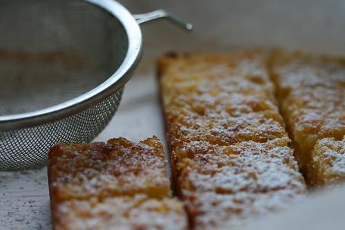 Meyer lemon squares by the james kitchen