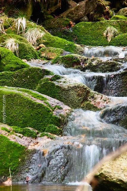 Wasserlauf in Świeradów-Zdrój