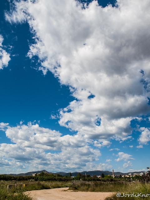 Nubes en Cornellà de Llobregat