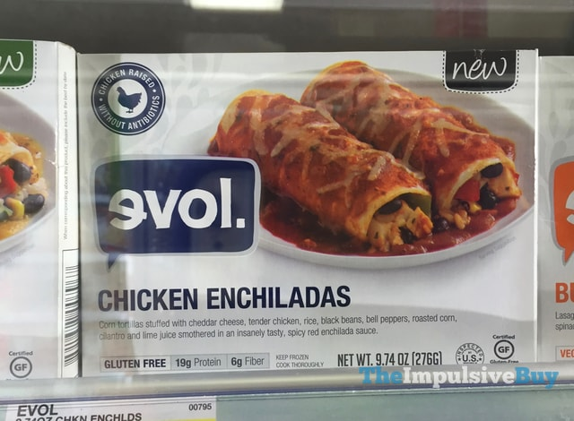 Evol Chicken Enchiladas