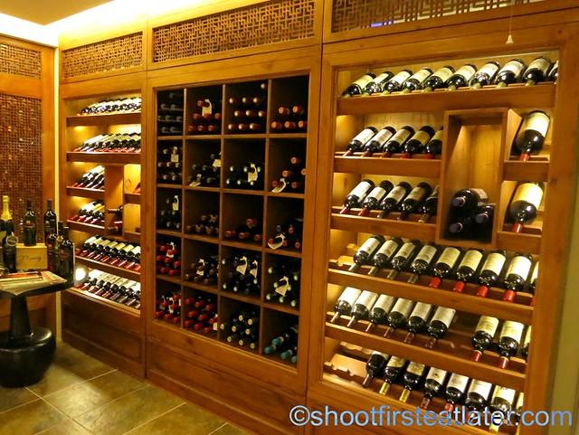 wine cellar of Manny O