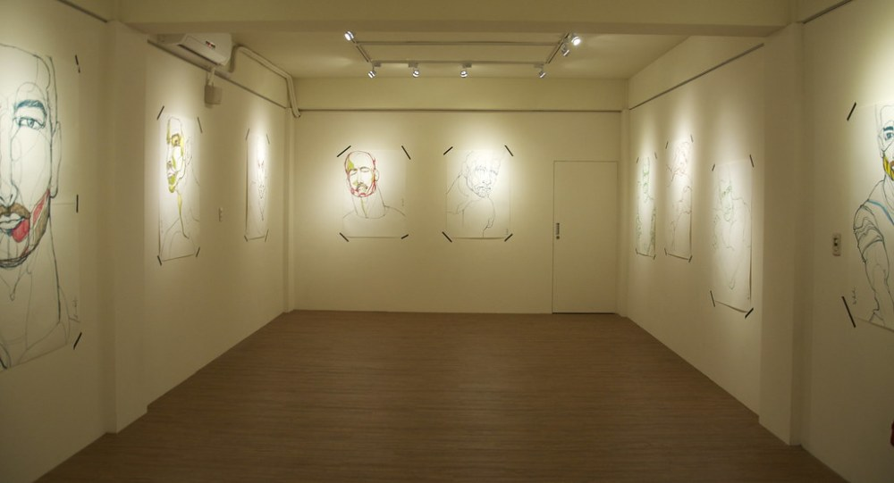 「張貼塗鴉」林俊良繪圖計劃 STIGRAFFITI:LIN JUN-LIANG「DRAWING & PAINTING PLAN」