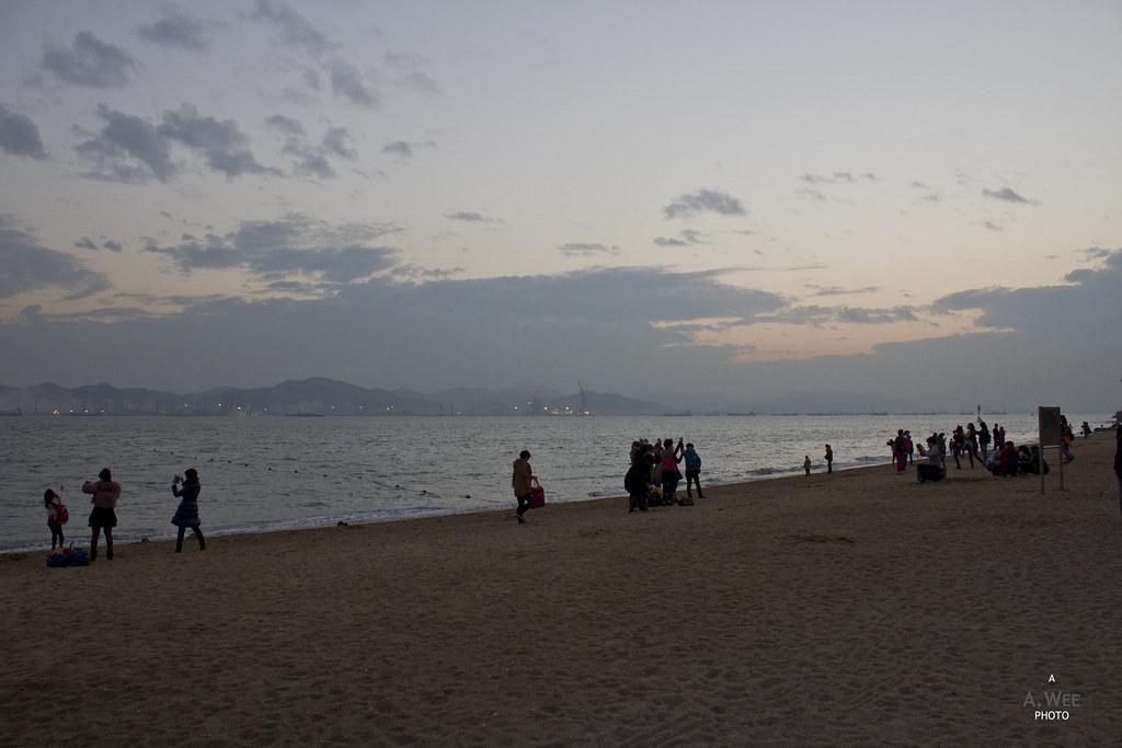 The Beach at Gulangyu