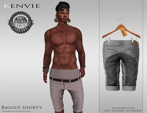 KENVIE.Baggy Shorts AD by xmike deed
