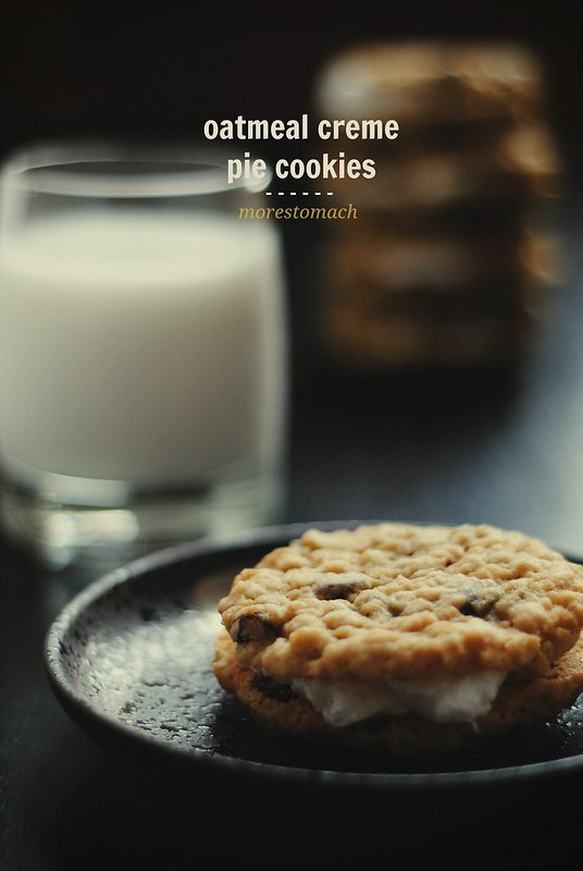 Oatmeal Creme Pie Cookies