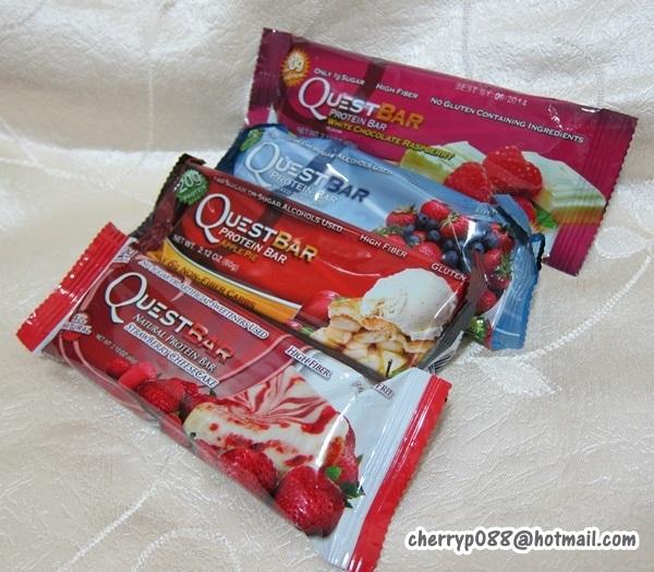 健康飽腹倍增蛋白棒 Quest BarsCherry之美容化妝事   Cherry之美容化妝事