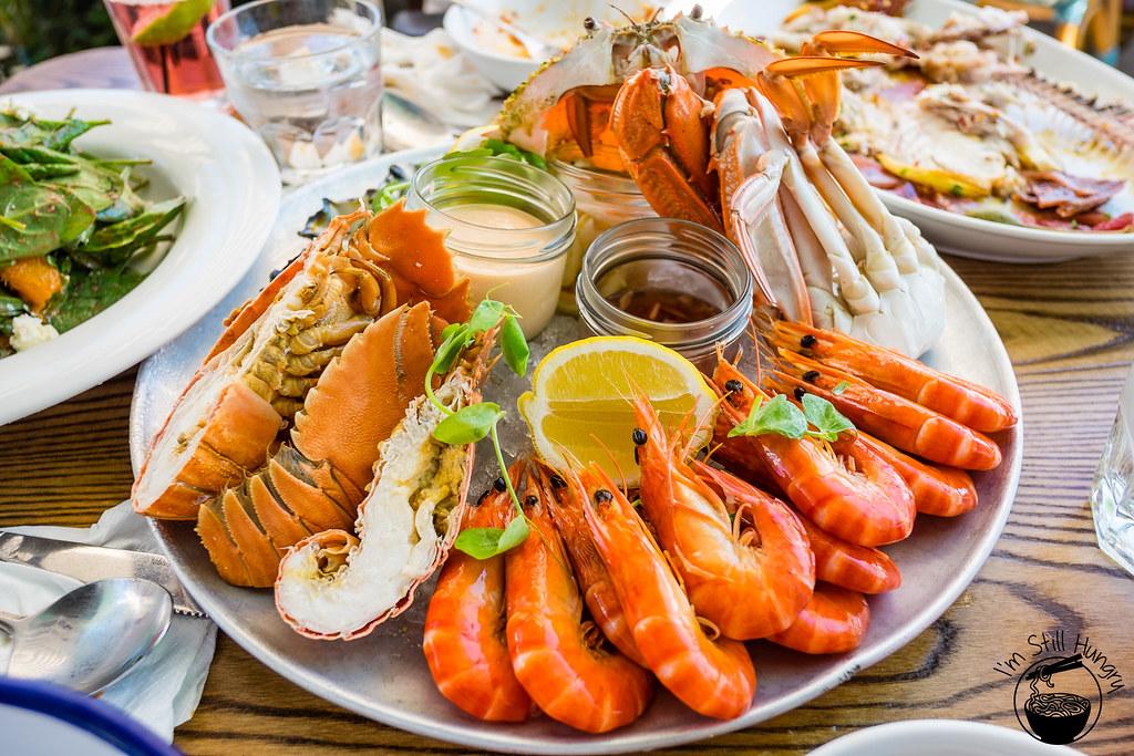 Watson's Bay Beach Club seafood platter