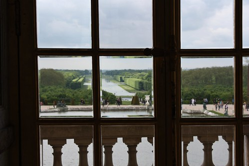 Versailles View of the gardens