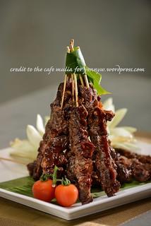 Hotel Mulia Senayan, Jakarta_The Café_Sate Marangi