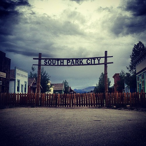 Ghost Town in Colorado by @MySoDotCom