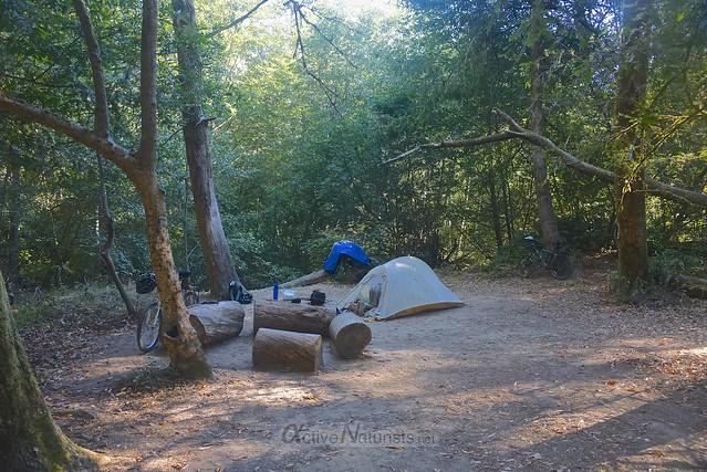 camping 0000 Big Basin Redwoods, CA, USA