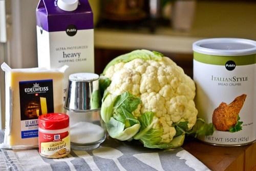 Cauliflower Gratin-1