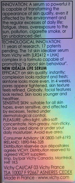 Vichy Idealia Life Serum review
