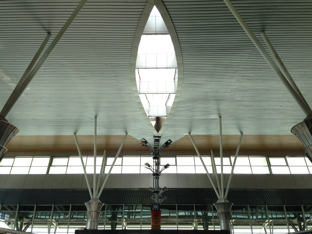 Natural Light streaming in at Kota Kinabalu Airport BKI
