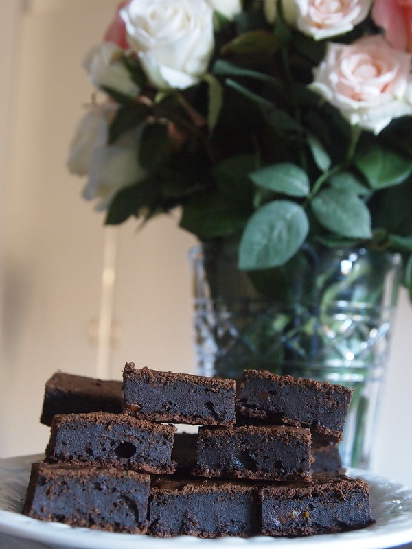 Brownies (with spinach and carrot)