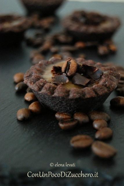 Tartellette caffè e cioccolato