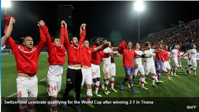 Swiss football team world cup