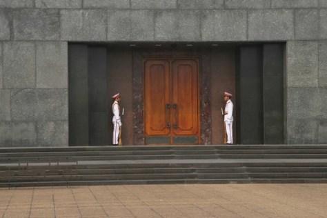 Ho Chi Minh's Mausoleum, Hanoi, Vietnam