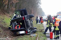 Verkehrsunfall A671 Hochheim 29.01.14