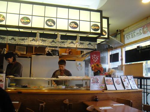 Sapporo Sushi interior