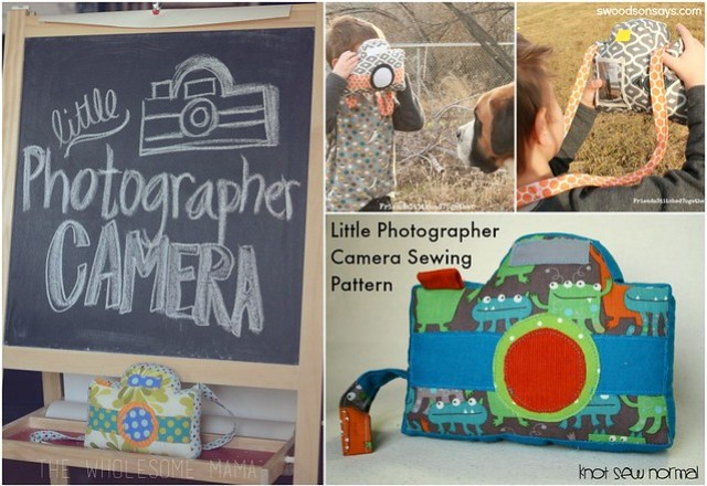 Camera Sewing Pattern for Babies