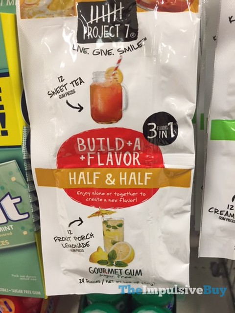 Project 7 Half & Half Build-A-Flavor Gum