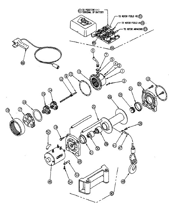 Atv Warn Winch A2000 Wiring Upgrade Diagram Electrical Circuit