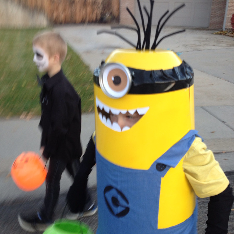 Halloween 2013, Drew the Minion