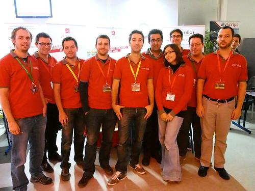 DevFest 2013 : L'équipe Zenika (1)