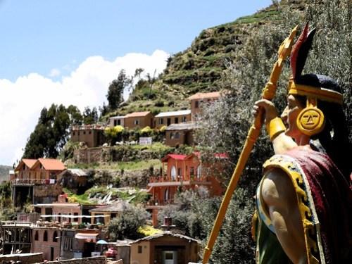 Yumani, Isla del Sol, Bolivie