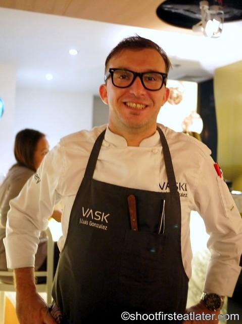 VASK Modern Tapas & Gastronomic Cuisine- Chef J Luis Gonzalez