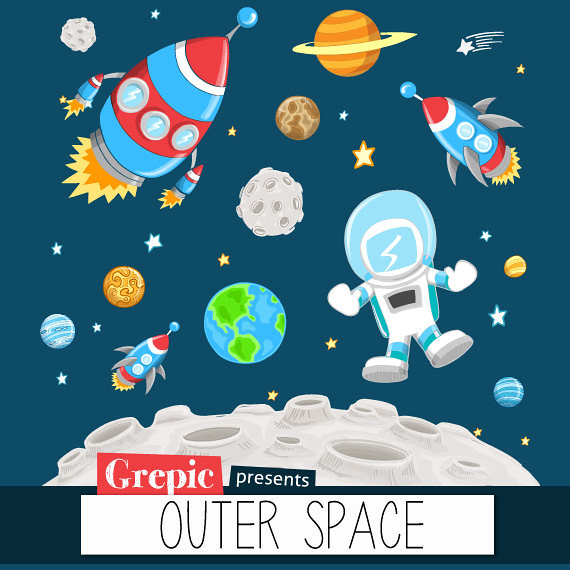 """outer space clipart """"outer space"""""""