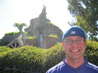 Dan with Splash Mountain