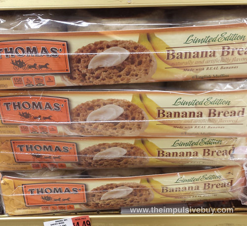 Thomas' Limited Edition Banana Bread English Muffins