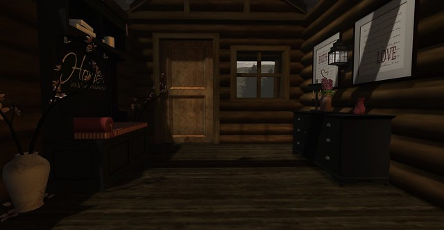 Rustic Lodge - Entryway