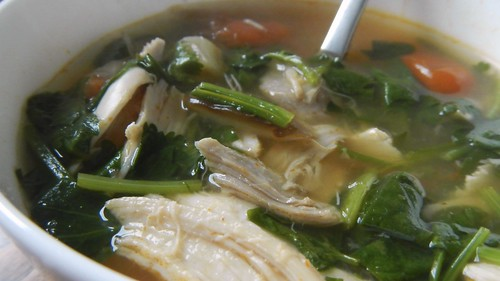 Spicy Thai Chicken Noodles Soup 29