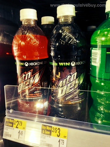 Mtn Dew Game Fuel Electrifying Berry