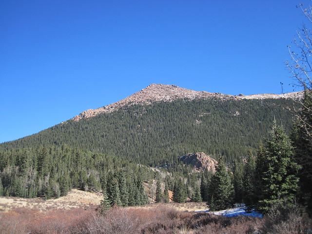 Picture from Horsethief Park, Colorado