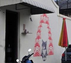Georgetown street art- painted 13