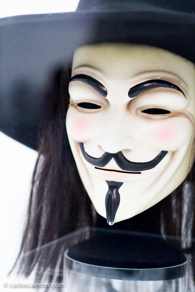 Máscara de Guy Fawkes (V de Vendetta)