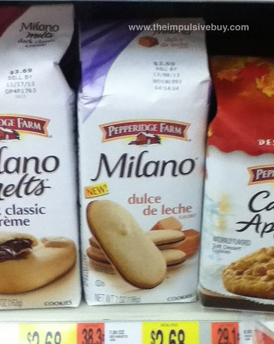 Pepperidge Farm Dulce de Leche Milano