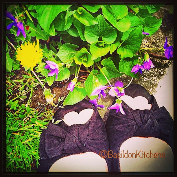 May 12 - toes {my toes in my 'peeky toe' shoes on the lawn} Looks can be deceiving; it's COLD! Only 8C! #photoaday #toes