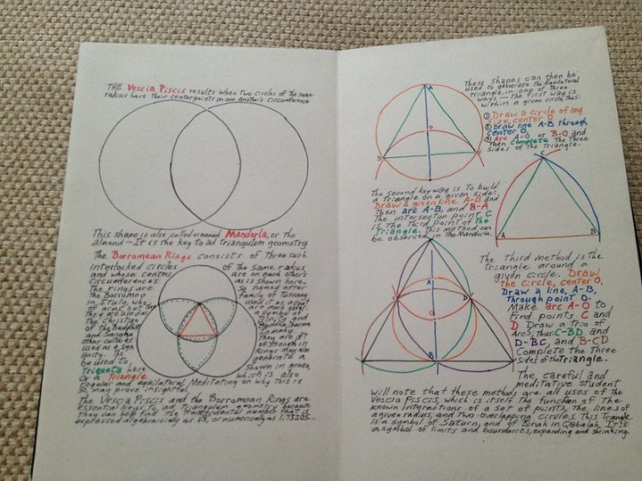Art of Geometry: equilateral triangles